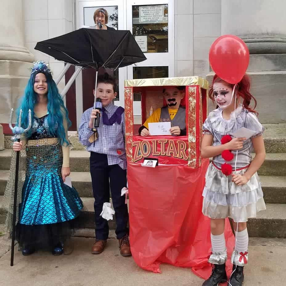 Halloween constest winners for 2019 ages 9-10